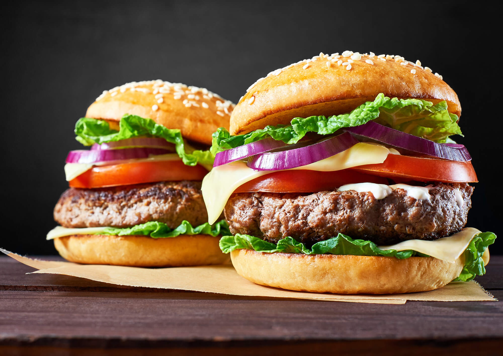 Βουβαλίσιο burger Μπόρας