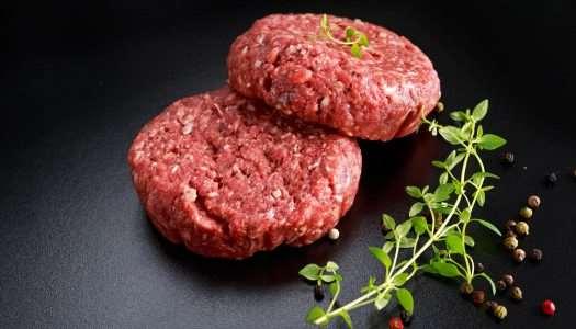 100% βουβαλίσιο burger Μπόρας
