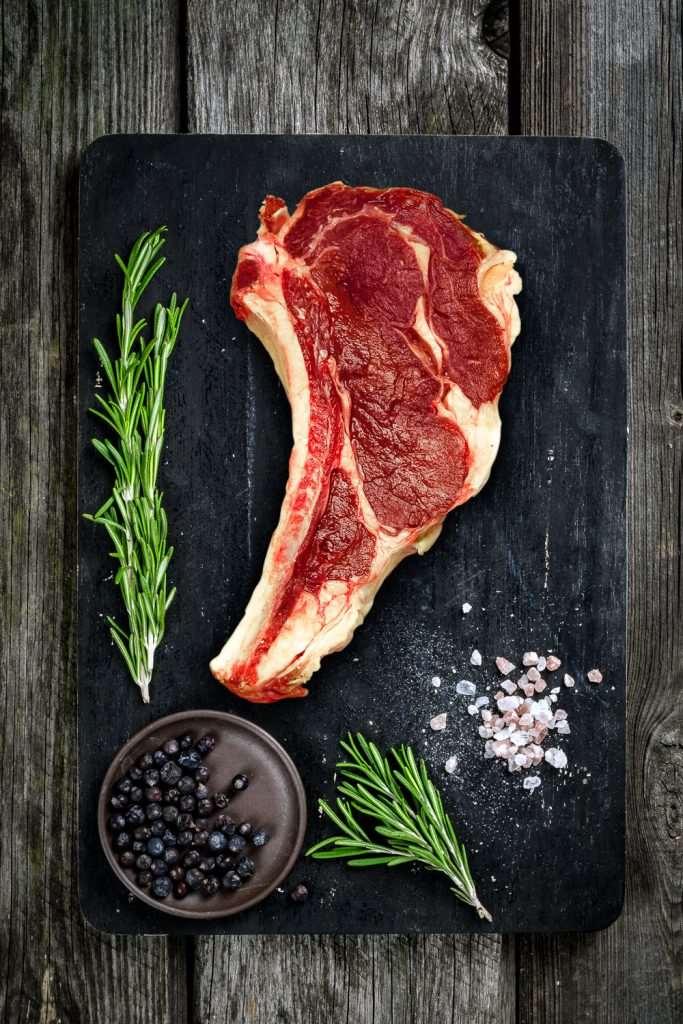 βουβαλίσιο κρέας, βουβαλίσια μπριζόλα Κερκίνης, Μπόρας