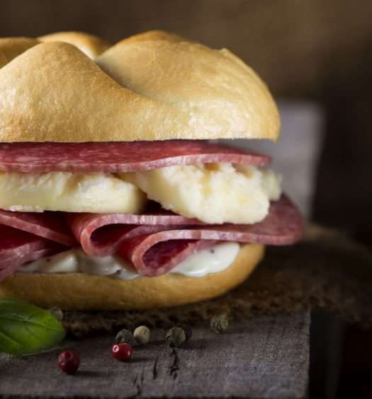 sandwitch salami