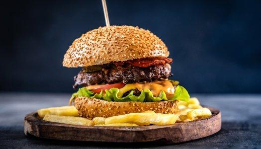 Βουβαλίσιο Burger από 100% Βουβαλίσιο κρέας Κερκίνης